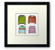 Sweaters! Framed Print