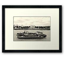 Boat Of Ages Framed Print