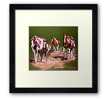 Bringing Home The Babies #2 Framed Print