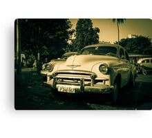 Ageing chevy  Canvas Print