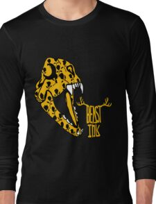 BEAST INK    SKULL OF GOLD Long Sleeve T-Shirt
