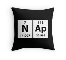 Geeky Pillow, Chemical Elements Nap Throw Pillow
