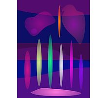 Abstract Pipe Organ Art Photographic Print