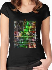 Hacker clothes design Women's Fitted Scoop T-Shirt