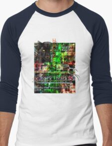 Hacker clothes design Men's Baseball ¾ T-Shirt