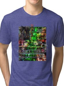 Hacker clothes design Tri-blend T-Shirt
