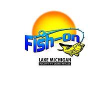 Fish On Lake Michigan by dejava