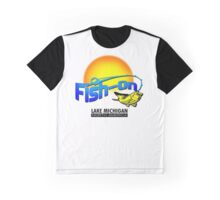 Fish On Lake Michigan Graphic T-Shirt