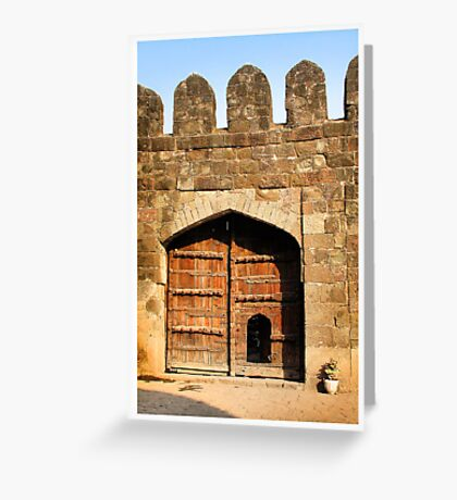 Daulatabad Fort Greeting Card