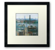 London Cityscape Framed Print
