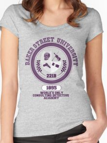 Baker Street University Women's Fitted Scoop T-Shirt