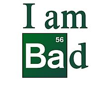 Breaking Bad - I am Bad Photographic Print