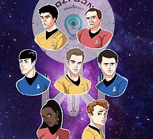 To Boldly Go by ArtisticCole