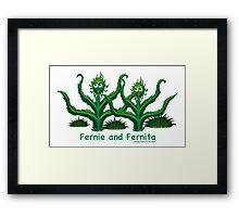 Fernie and Fernita Framed Print