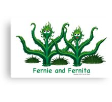 Fernie and Fernita Canvas Print