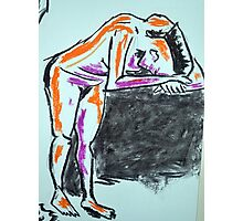 Nude female sketch #2 Photographic Print