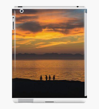 Waiting for the dawn iPad Case/Skin