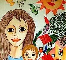 Mother's Day  by Madalena Lobao-Tello