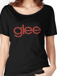 Glee logo stage lights Women's Relaxed Fit T-Shirt