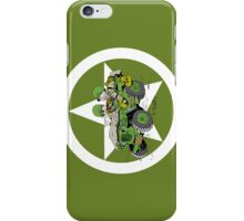 Cartoon of a WW2 G503 jeep iPhone Case/Skin