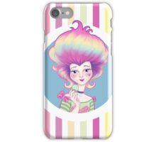Marie Antoinette with Macaron iPhone Case/Skin
