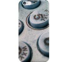Dial 5 For Ring Back iPhone Case/Skin