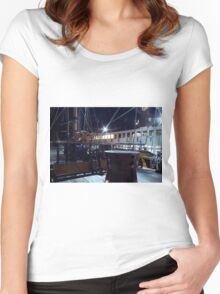 Ships of Kings Women's Fitted Scoop T-Shirt