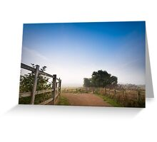 Upton Country Park in the Morning Greeting Card