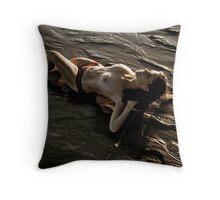 Arroyo Sunset 1 Throw Pillow