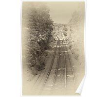 Railway lines Poster