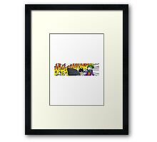 The Punchline Framed Print