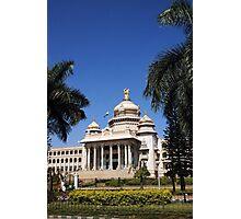 Vidhana Soudha, Bengaluru Photographic Print