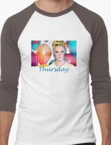 Thursday Mixtape Men's Baseball ¾ T-Shirt