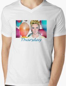 Thursday Mixtape Mens V-Neck T-Shirt