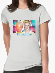 Thursday Mixtape Womens Fitted T-Shirt