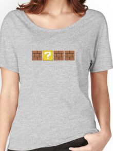 Mario Blocks Women's Relaxed Fit T-Shirt