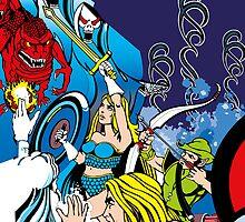 Retro - Arcade Gauntlet (1985) by ccorkin