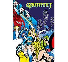 Retro - Arcade Gauntlet (1985) Photographic Print