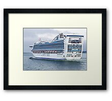 Caribbean Princess Framed Print
