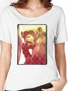 Licking Ape Women's Relaxed Fit T-Shirt
