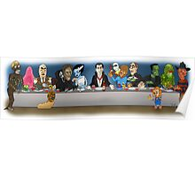 Monsters Last Supper  Poster
