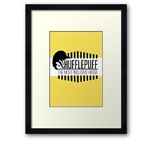 Hufflepuff - The Most Inclusive House Framed Print
