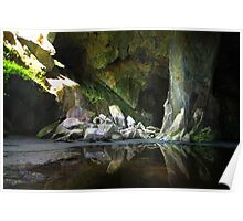 Cathedral Cavern Little Langdale  Poster