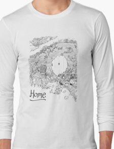 A Hobbit's Hole is Home Long Sleeve T-Shirt