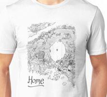 A Hobbit's Hole is Home Unisex T-Shirt