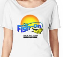 Fish On Tarpon Borca, FL Women's Relaxed Fit T-Shirt
