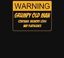 Warning Grumpy Old Man Unisex T-Shirt