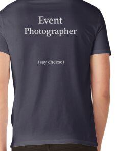 Event Photographer Mens V-Neck T-Shirt