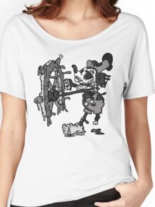 Steamboat Willie Women's Relaxed Fit T-Shirt