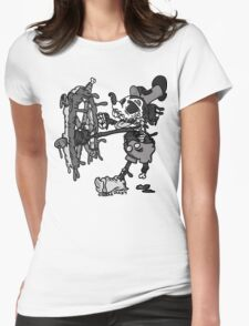 Steamboat Willie Womens Fitted T-Shirt